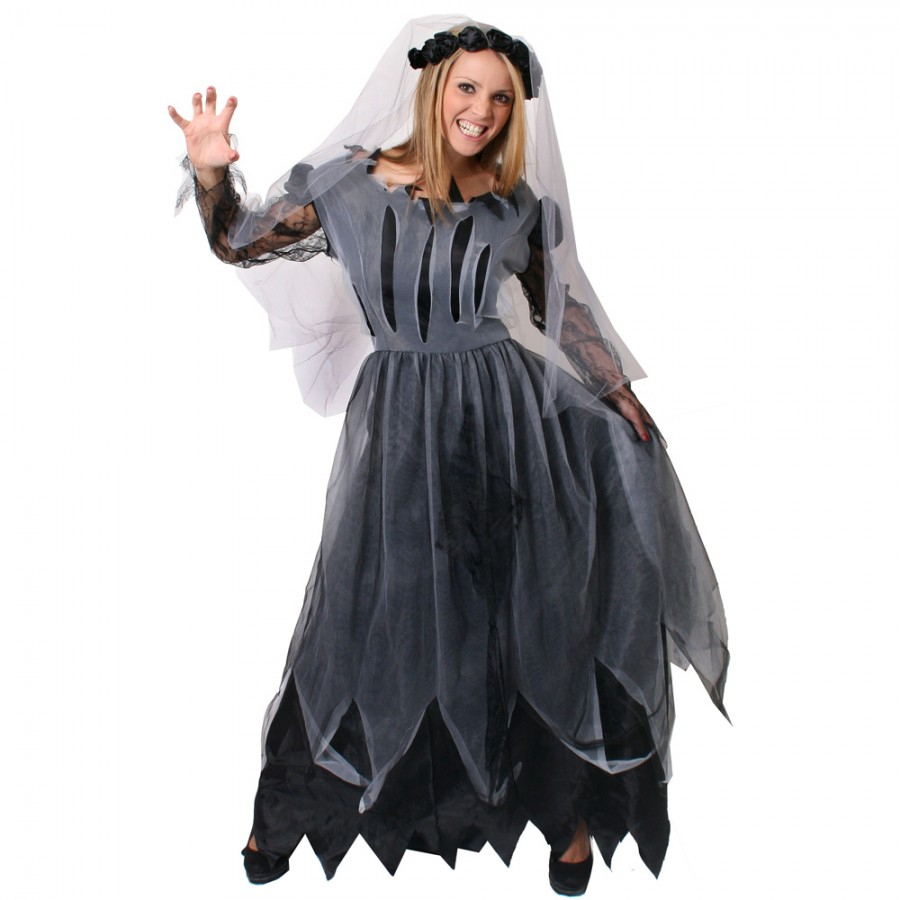 Halloween corpse bride of darkness for Corpse bride wedding dress for sale