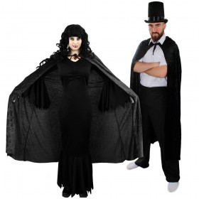 Couples Costume - Vampire - Black