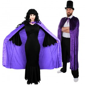 Couples Costume - Vampire - Purple