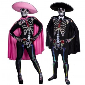 Couples Costume - Sugar Skeleton