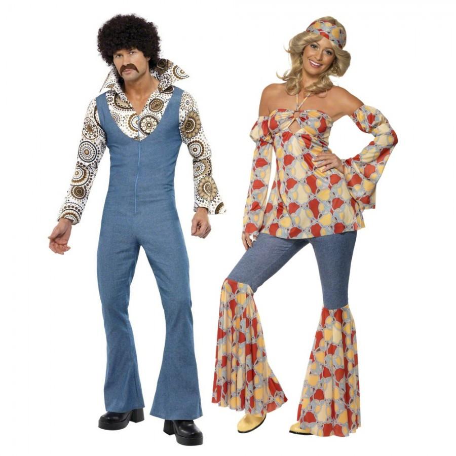 couples costume 1970s