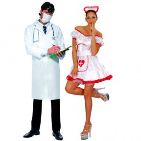 Couples Costume - Doctor + Nurse
