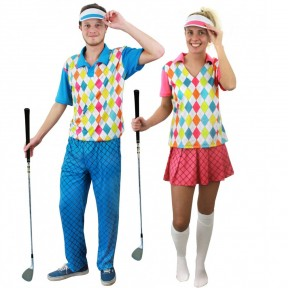 Couples Costume - Golfers
