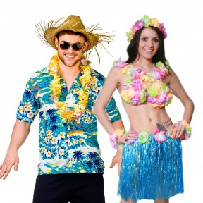 Couples Costume - Hawaiian