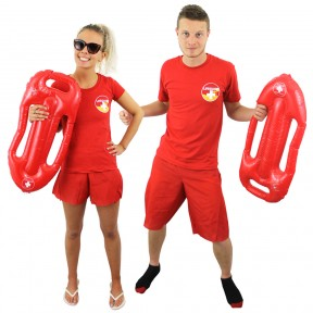 Couples Costume - Lifeguard
