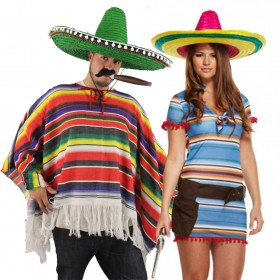 Couples Costume - Mexican