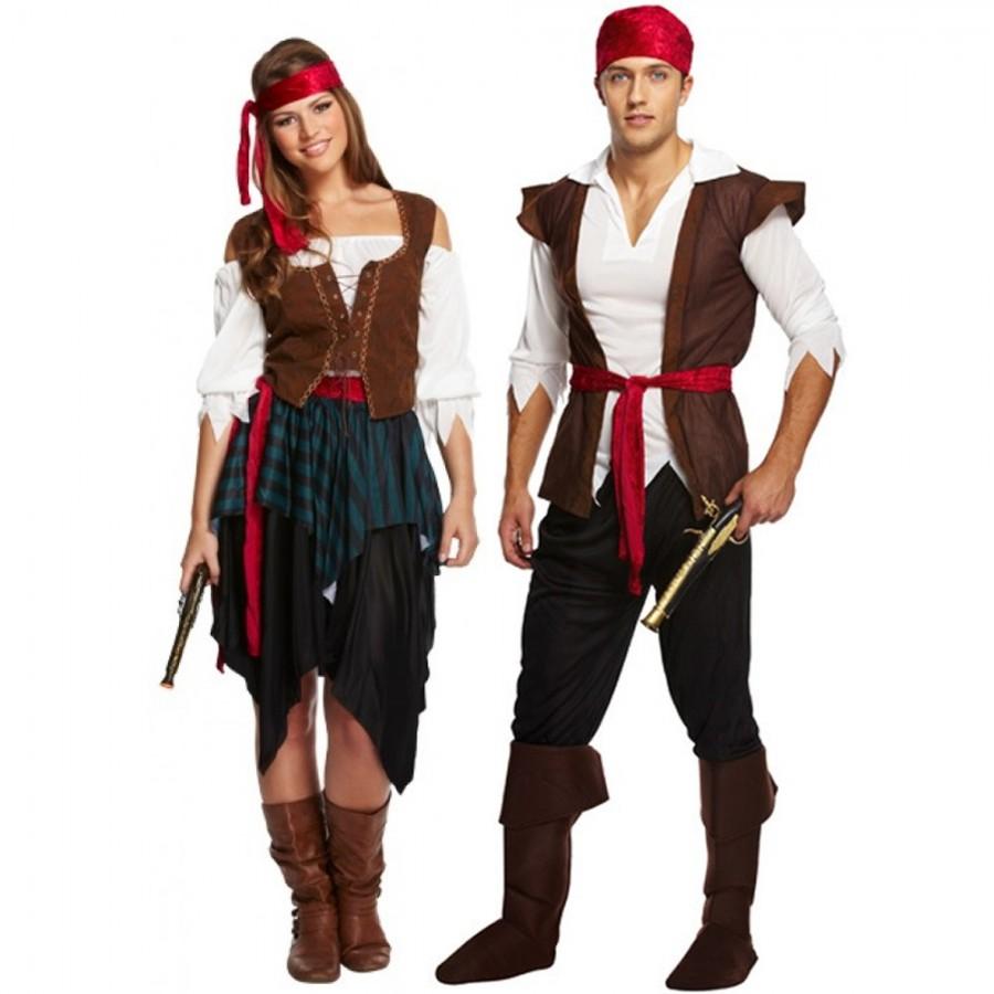 Couples Costume Pirates