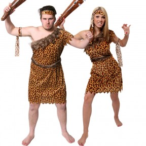 Couples Costume - Caveman/Cavewoman