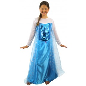 Snow Princess Fancy Dress Costume