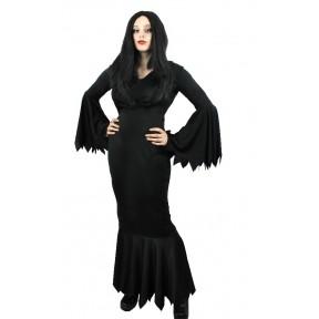 Vampiress Dress Halloween Gothic Black Dress