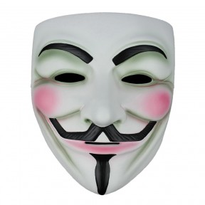 Anonymous Mask with Elasticated Strap