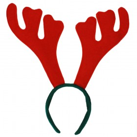 Christmas Reindeer Antlers on Headband