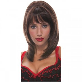 Jasmine Brown Adult French Kiss Wig