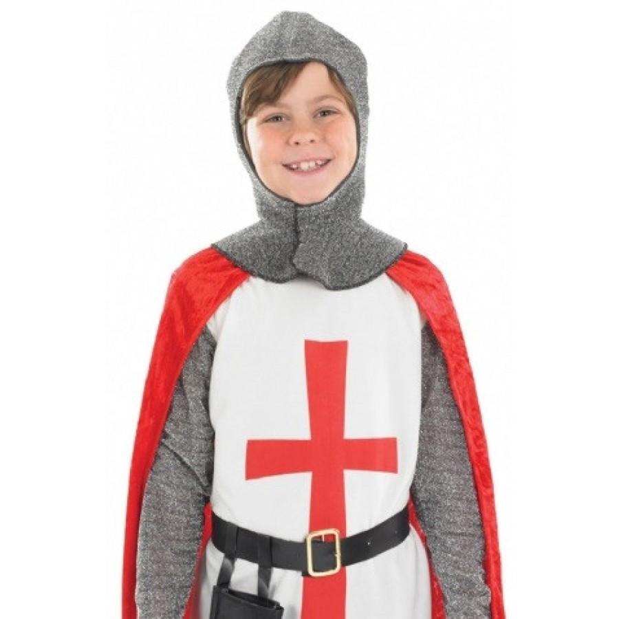 Boys St George Knight Crusader Costume George Knight