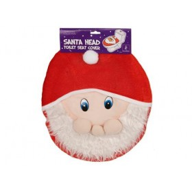 Father Christmas Toilet Seat Cover