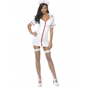 Ladies Sexy Nurse Costume