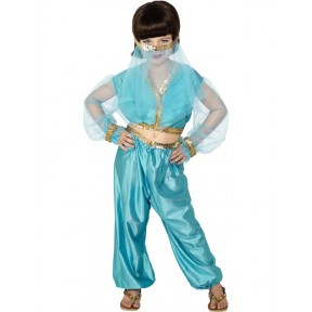 ARABIAN PRINCESS BELLY DANCER COSTUME SMALL
