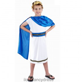 Kids Caesar Greek/Roman God Costume