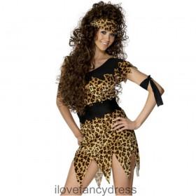 Ladies Cave Woman Costume