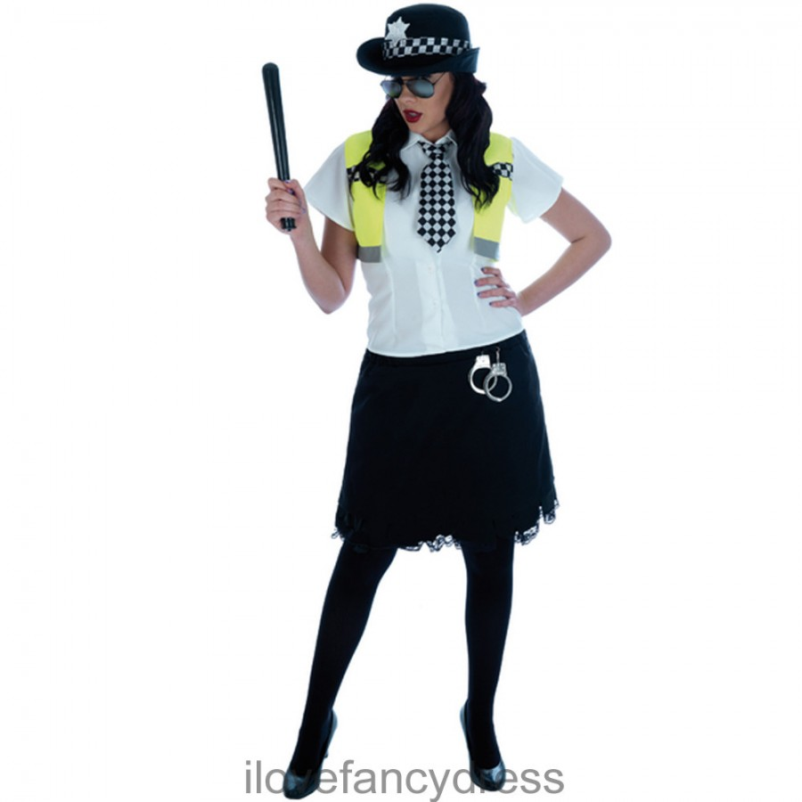 sc 1 st  I Love Fancy Dress & Ladies Cute Cop