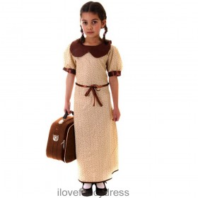 WW2 Evacuee Girl Costume