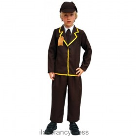 Evacuee Boy Costume - 1940's WW2
