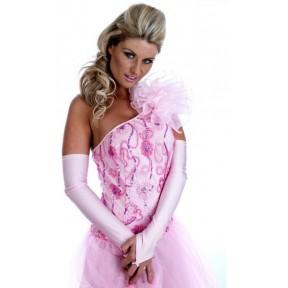 LADIES FOXTROT DRESS ANTON AND ERIN BALLROOM DANCING COSTUME DRESS & GLOVES XS-L