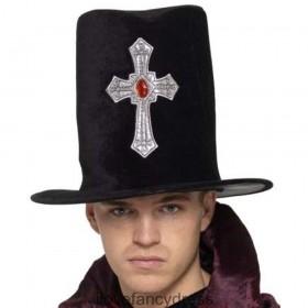 Gothic Grave Digger Soft Velour Hat