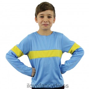 BOY'S HORRIBLE BOY CHARACTER TOP CHILD'S SCHOOL BOOK WEEK FANCY DRESS S M L