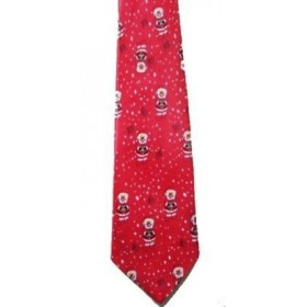 Mens Red Christmas Tie