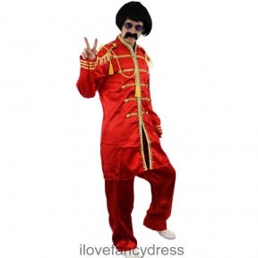 1960's Sergeant Pepper Costume and Accessory Set