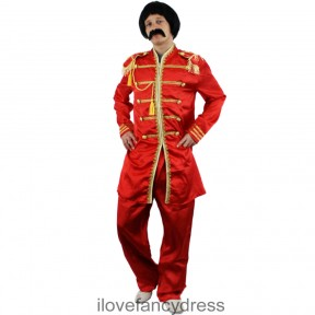 1960's Sergeant Pepper Costume and Wig set
