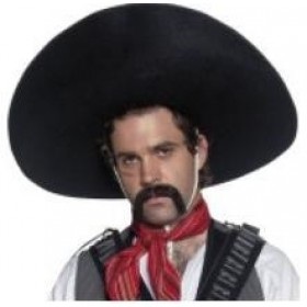 Mexican Outlaw Hat XLarge Sombrero