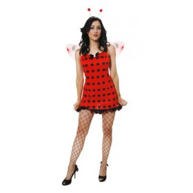Womens Sexy Ladybug Costume