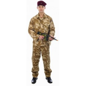 Paratrooper Red Beret Army Soldier