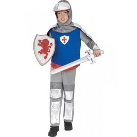 Knight Costume - Trousers, Tunic + Headpiece