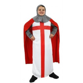 Boys St Georges Knight Medieval King