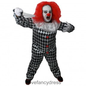 Evil Killer Clown Halloween Costume
