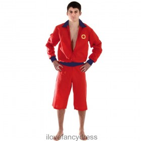 Mens Lifeguard Costume