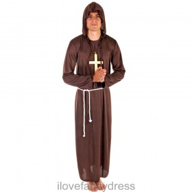 Medieval Monk Friar Tuck Costume