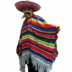 Adult Mexican / Western Bandit Costume