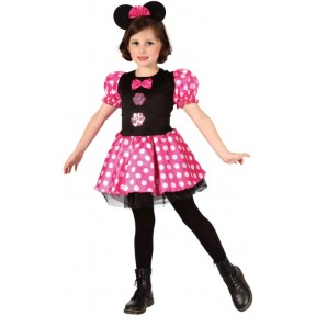 Pink Mouse Girl Costume