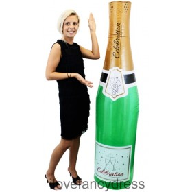 Inflatable Champagne Bottle 180cm