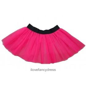 Plus Size Neon Pink Tutu