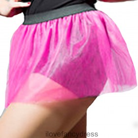 Hot Pink Neon Tutu Dance Skirt