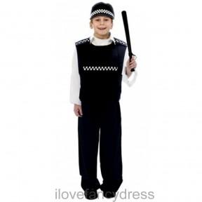 Boys Police Officer Costume