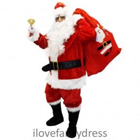 Deluxe 12 Piece Santa Costume