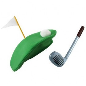 Pub Golf Set - Hat + Inflatable Golf Club