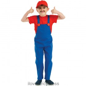 Red Plumbers Mate Costume