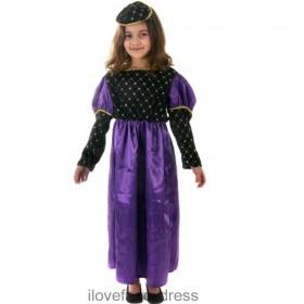 Rich Tudor Girl Costume